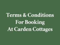 Carden - Booking Terms And Conditions
